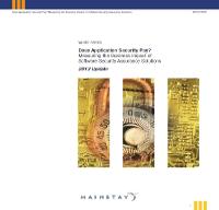 Midiendo el impacto financiero de las soluciones de Software Security Assurance