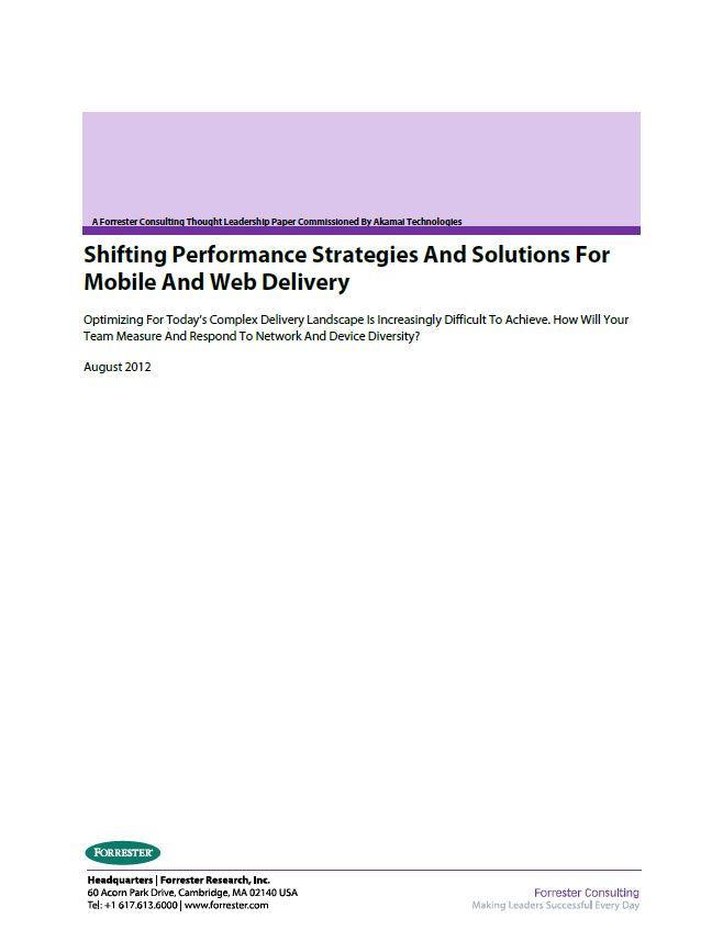 El cambio de estrategias de rendimiento y soluciones para el desarrollo móvil y web
