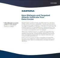Cómo el Malware y los ataques dirigidos se infiltran en su Data Center