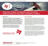 Claranet ofrece a Atrápalo una solución internacional en Europa y Estados Unidos