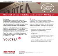 Claranet ofrece a Volotea una solución TI integral