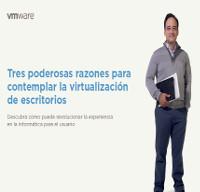 Tres poderosas razones para contemplar la virtualización de escritorios