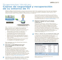Sugerencias técnicas: Copias de seguridad y recuperación de su entorno de TI
