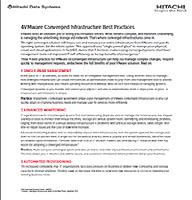 4 Mejores prácticas en la infraestructura convergente de VMware