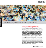 Guía comparativa Hitachi sobre virtualización convergente