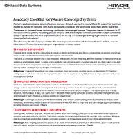 Lista de verificación de defensa de los sistemas convergentes de VMware