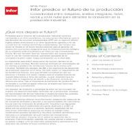 Infor predice el futuro de la producción
