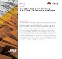 Eligiendo la mejor plataforma de almacenamiento para empresas Splunk