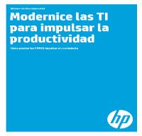 Modernice las TI para impulsar la productividad
