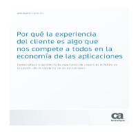 Por qué la experiencia del cliente es algo que nos compete a todos en la economía de las aplicaciones
