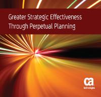 Mejor eficacia estratégica a través de la planificación continua
