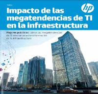 Impacto de las megatendencias de TI en la infraestructura