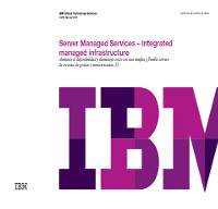 Server Managed Services – Infraestructura gestionada integrada