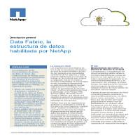 Data Fabric, la estructura de datos habilitada por NetApp