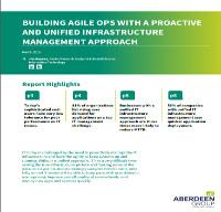 Construcción de un OPS ágil con un enfoque de gestión de infraestructura unificado