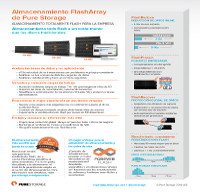 Almacenamiento FlashArray de Pure Storage