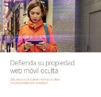 Defienda su propiedad web móvil oculta