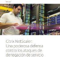 Citrix NetScaler:Una poderosa defensa contra los ataques de denegación de servicio