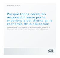 Por qué todos necesitan responsabilizarse por la experiencia del cliente en la economía de la aplicación