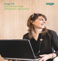 Sage X3 para empresas del sector servicios