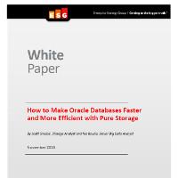 Cómo hacer las bases de datos de Oracle más rápidas y eficientes con Pure Storage