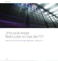 ¿Por qué elegir NetScaler en vez de F5?