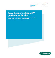 Total Economic Impact™ de Citrix NetScaler