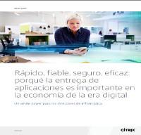 Rápido, fiable, seguro, eficaz: porqué la entrega de aplicaciones es importante en la economía de la era digital