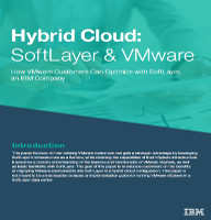 Hybrid Cloud: SoftLayer & VMware