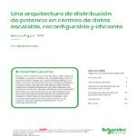 Una arquitectura de distribución de potencia en centros de datos escalable, reconfigurable y eficiente