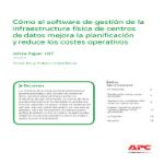 Cómo el software de gestión de la infraestructura física de centros de datos mejora la planificación y reduce los costes operativos