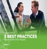 El nuevo BYOD: 5 mejores prácticas para un programa BYOD productivo