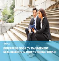 Gestión de movilidad empresarial. Beneficios reales en el mundo móvil de hoy