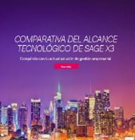 Comparativa del alcance tecnológico de Sage X3