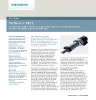 Caso de éxito de Talleres MYL y Siemens: Fabricar más y más rápido