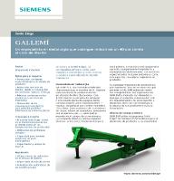 GALLEMÍ: Reducir el ciclo de diseño gracias a Solid Edge de Siemens