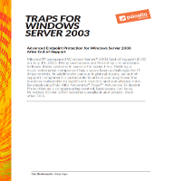 Traps para Windows Server 2003