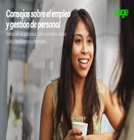Consejos sobre el empleo y gestión de personal
