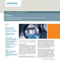 Caso de éxito de Miele y Siemens: Cómo reducir el Time-to-Market