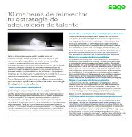 10 maneras de reinventar tu estrategia de adquisición de talento