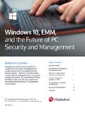 Windows 10, EMM y el futuro de la seguridad y gestión del PC