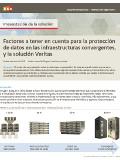 Factores a tener en cuenta para la protección de datos en las infraestructuras convergentes