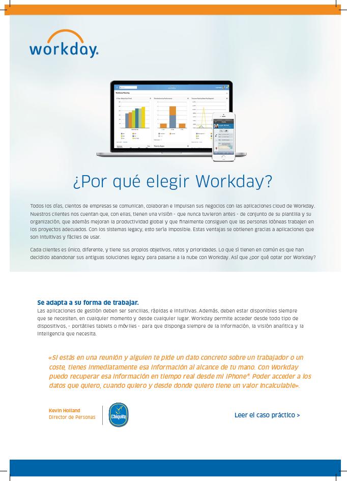 ¿Por qué elegir Workday?
