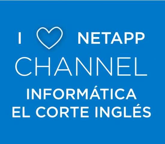 I Love NetApp, Informática El Corte Inglés y NetApp