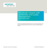 Acelerar la integridad con test unificados y administración de calidad
