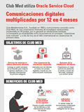 Club Med utiliza Oracle Service Cloud. Comunicaciones digitales multiplicadas por 12 en 4 meses