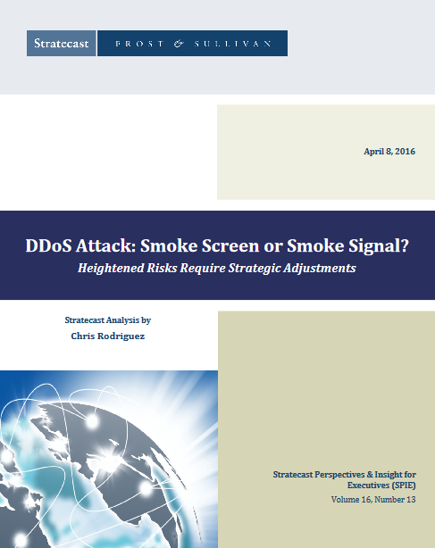 Los ataques DDoS: cortina de humo o señal de humo?