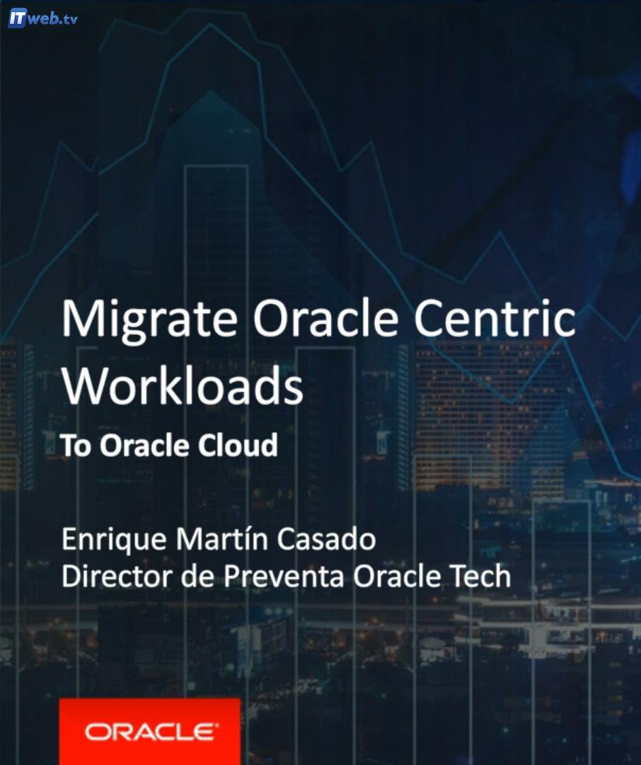 Cómo mover cargas de trabajo de Oracle a la nube