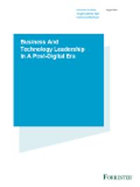 Liderazgo empresarial y tecnológico en una era post-digital