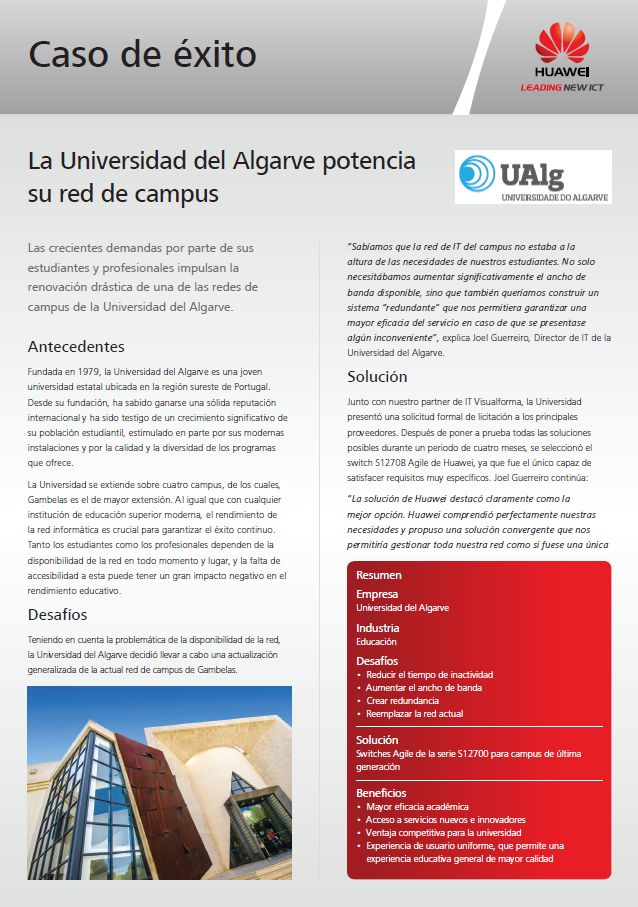 La Universidad del Algarve potencia su red de campus